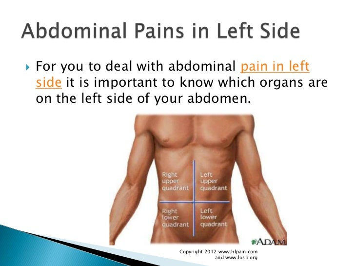 how to treat pain in left side, Skeleton