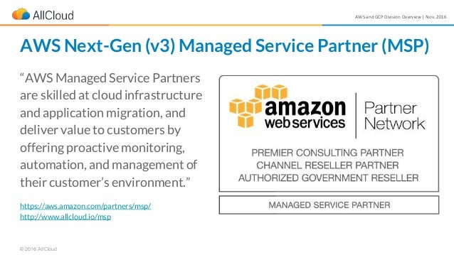 """AWS and GCP Division Overview 