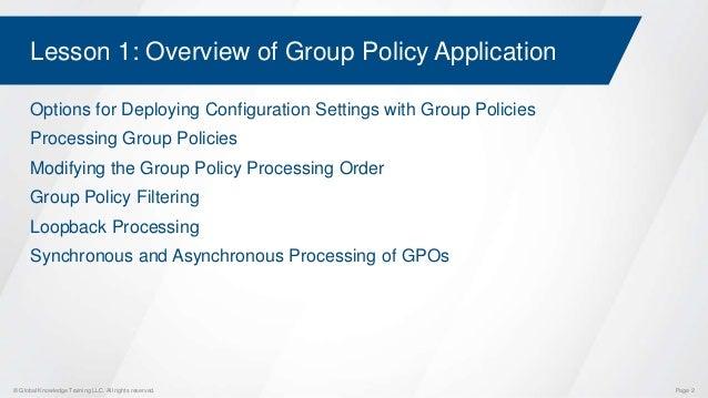 windows group policy training