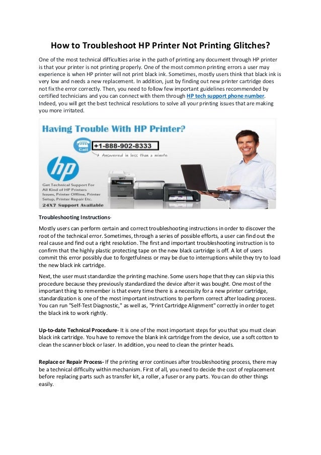 How to troubleshoot hp printer not printing glitches docx