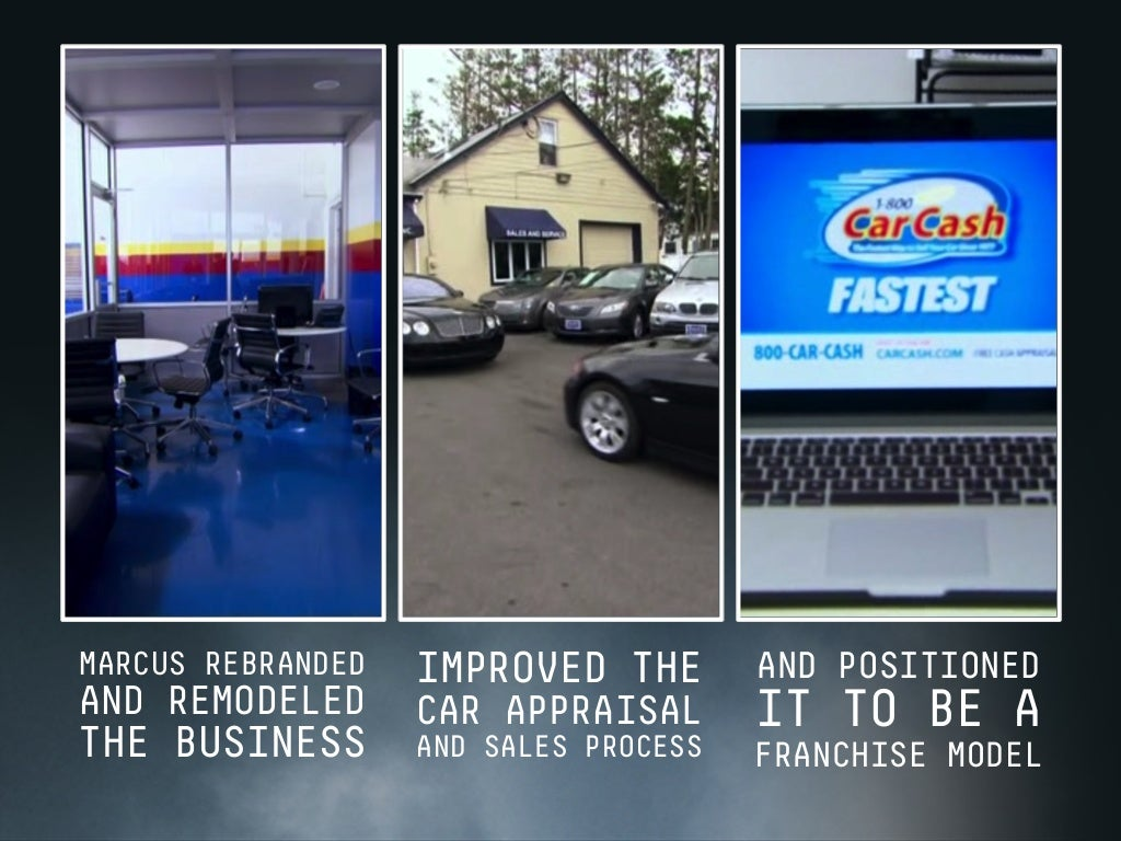 TODAY, 1-800-CAR-CASH HAS 70 FRANCHISES