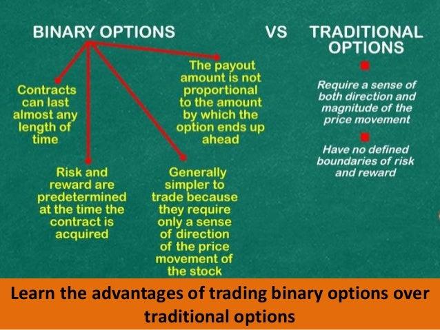 The binary options advantage