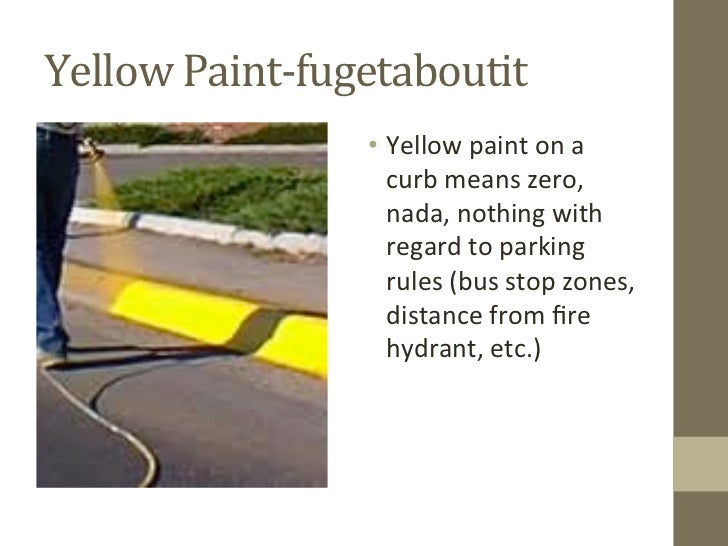 Yellow Curb Meaning >> How To Understand Nyc Parking Sign Language