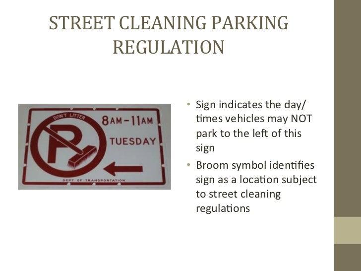 NYC DOT - Parking Regulations