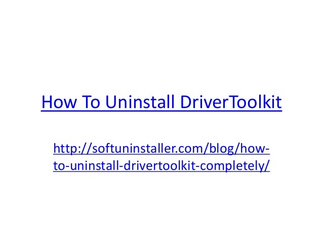 crack driver toolkit 8.5.0.0