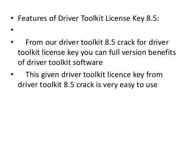 driver toolkit 8.5 0.0 license key