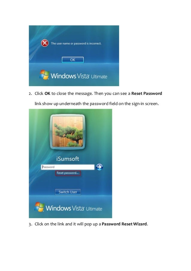 how to find passwords on a windows vista