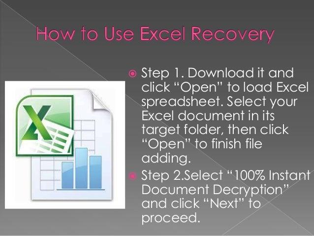 decrypt password excel sheet