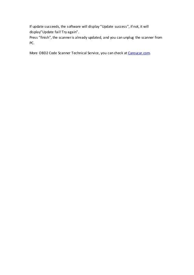 How to update honda creator c330 software