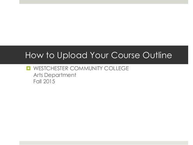 how to upload your course outline to blackboard. Black Bedroom Furniture Sets. Home Design Ideas