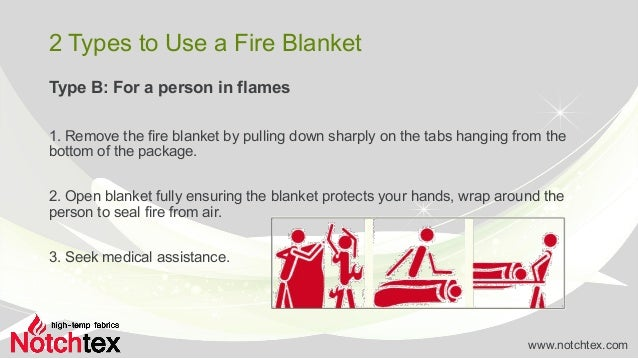 How To Use A Fire Blanket Rightly