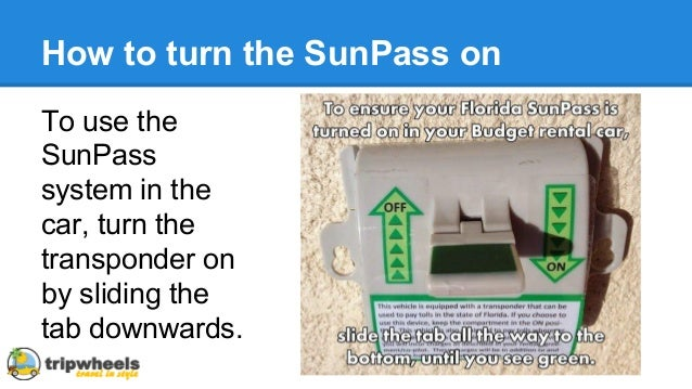How To Use A Sunpass On A Rental Car