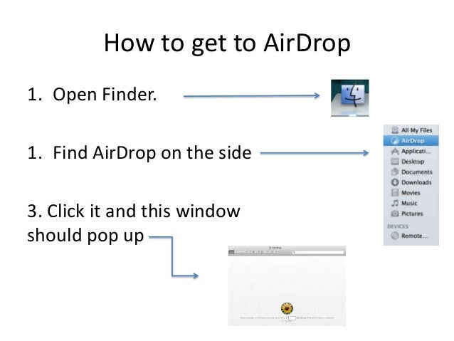 How to use airdrop os x feature in os x lion and above how to get to airdrop ccuart Images
