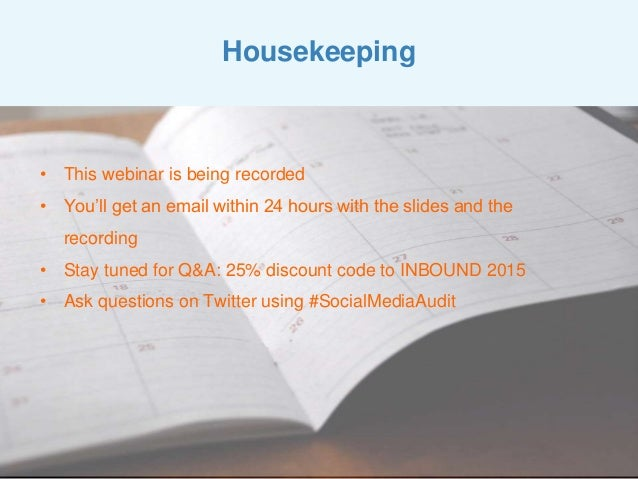 How to Use a Social Media Audit to Increase Traffic and Followers Slide 2
