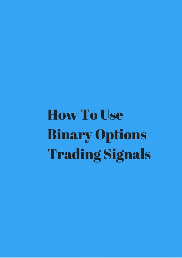 Binary code option trading