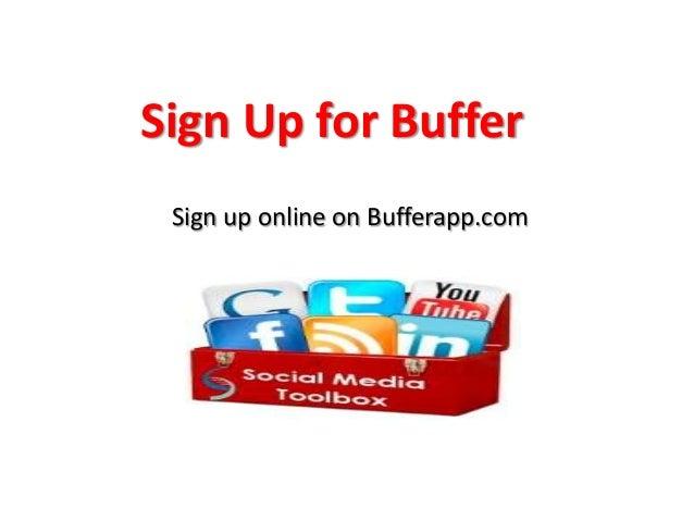 How to use buffer app Slide 2