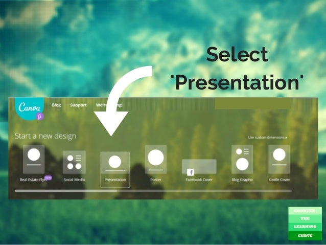 How To Use Canva Create SlideShare Presentations