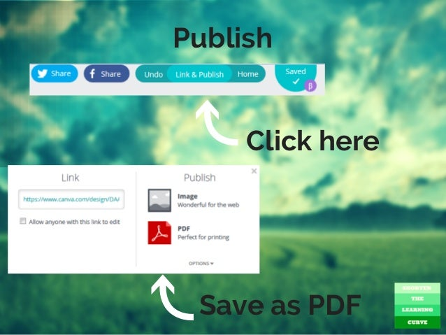 Publish Click here Save as PDF
