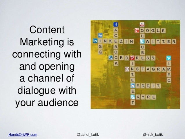 How to use content marketing to attract your target audience Slide 2