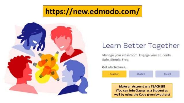 Using Edmodo LMS for Online Teaching-Learning Slide 3