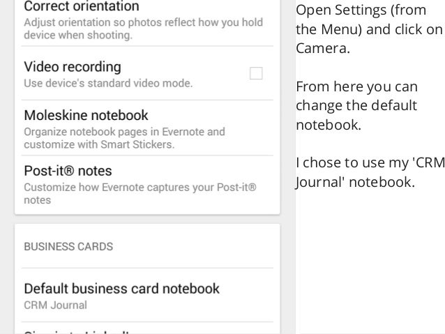 How to use evernote and your android phone to store business cards how to use evernote and your android phone to store business cards 2 reheart Gallery