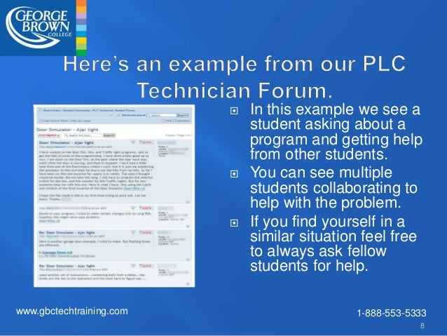 How to use forums GBCTech