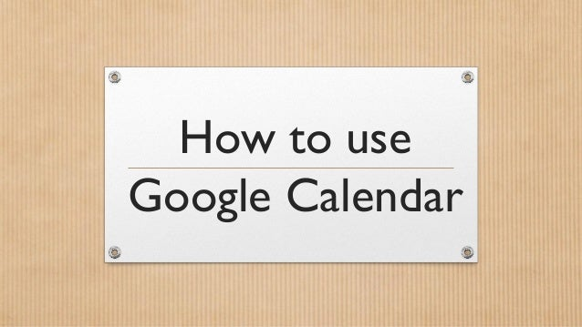 how to use google calendar to create an event