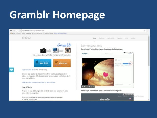 How to use gramblr to manage instagram on