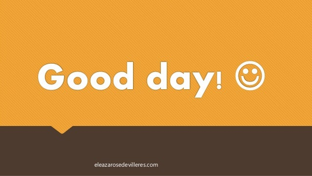 Good day!  eleazarosedevilleres.com