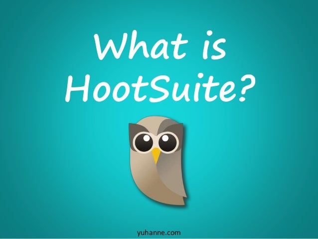 Getting Started with HootSuite