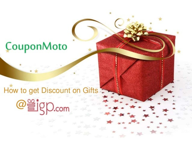 CouponMoto How to get Discount on Gifts @
