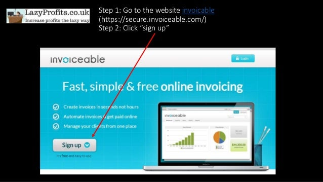 How To Use Invoiceable The FREE Invoicing Website - Tiny invoice website