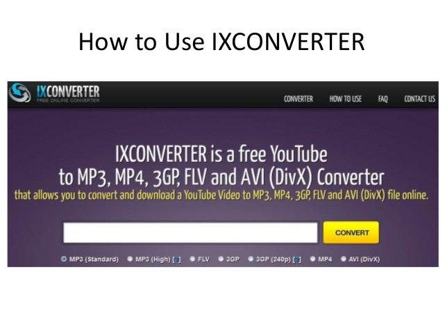 o programa ixconverter