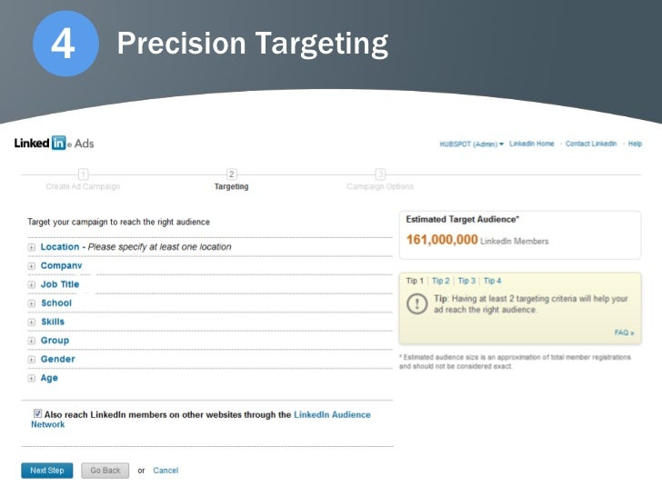 4   Precision Targeting3