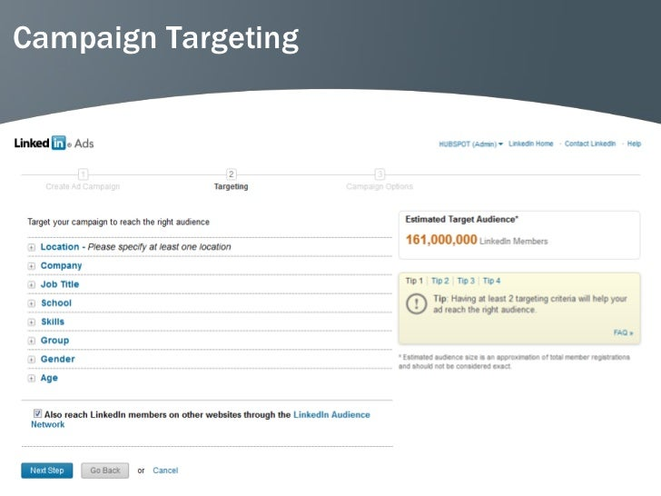 Campaign Targeting