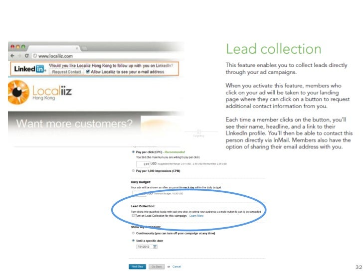 What is Lead Collection?                           32