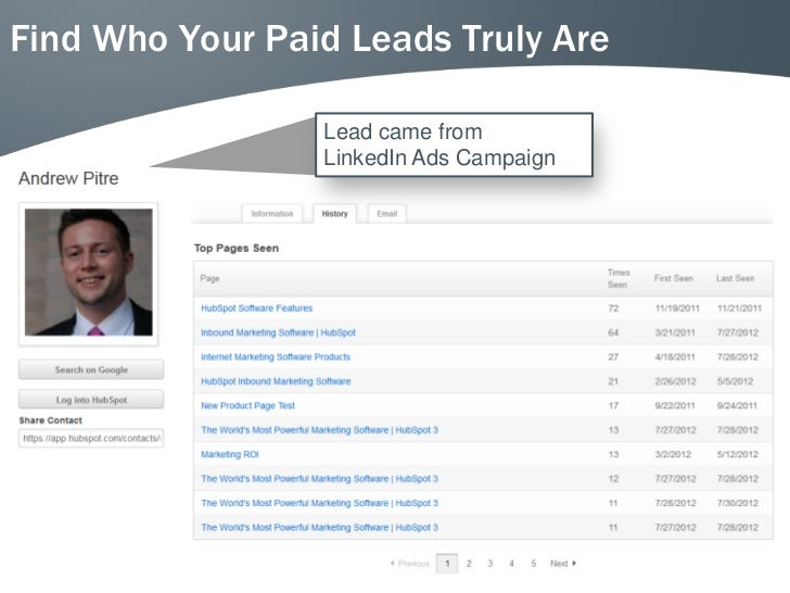 Find Who Your Paid Leads Truly Are                 Lead came from                 LinkedIn Ads Campaign