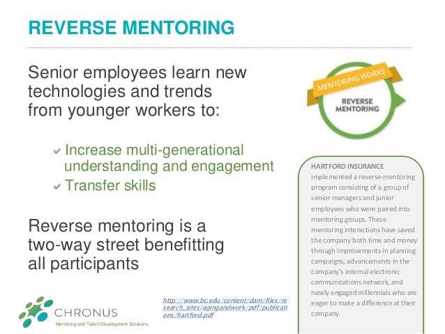 Recent Trends In Company Mentoring Programs