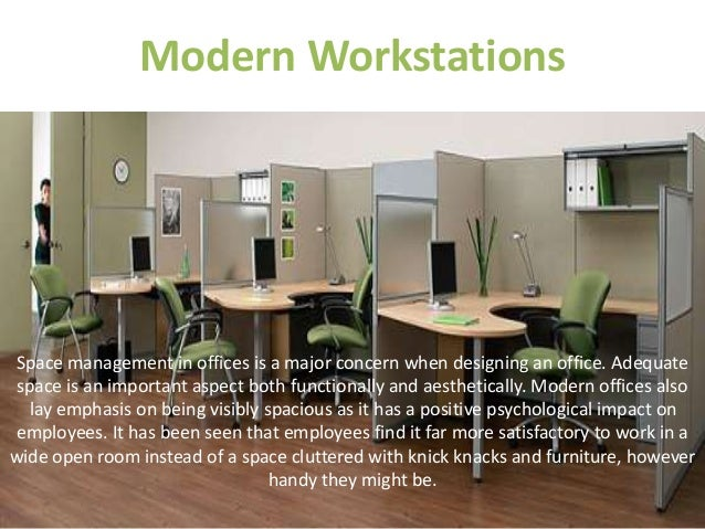 Modern Workstations ...