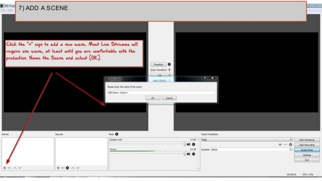 open broadcaster software requirements