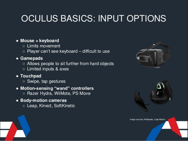 Unity Oculus Input