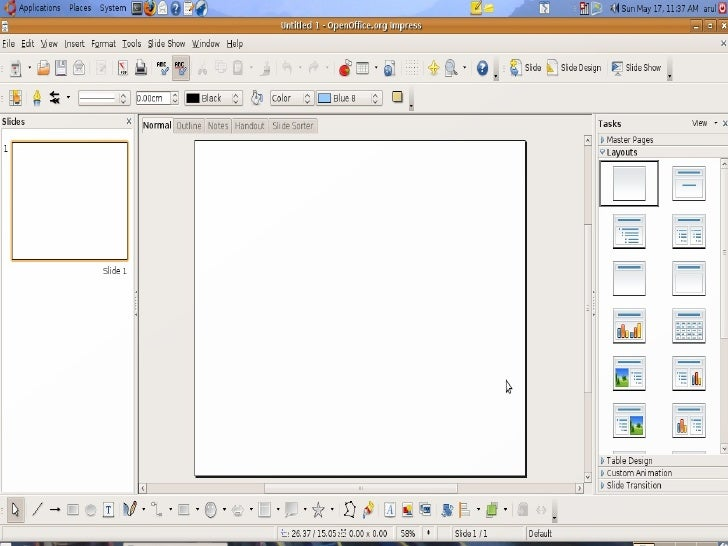 How to use open office impress - Comment utiliser open office impress ...