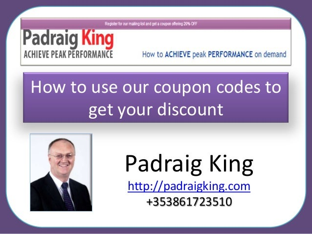 How to get discount coupons