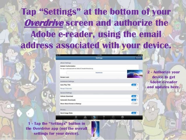 how to get download into overdrive