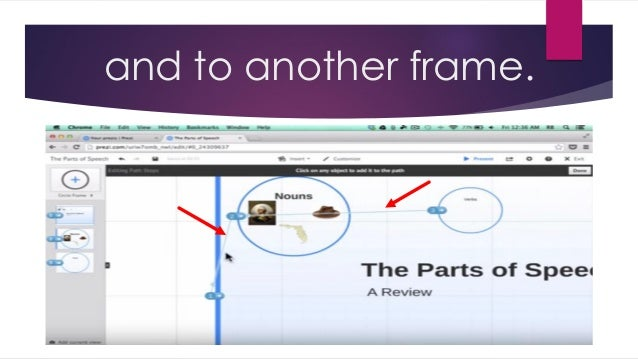 how to add another slide on prezi
