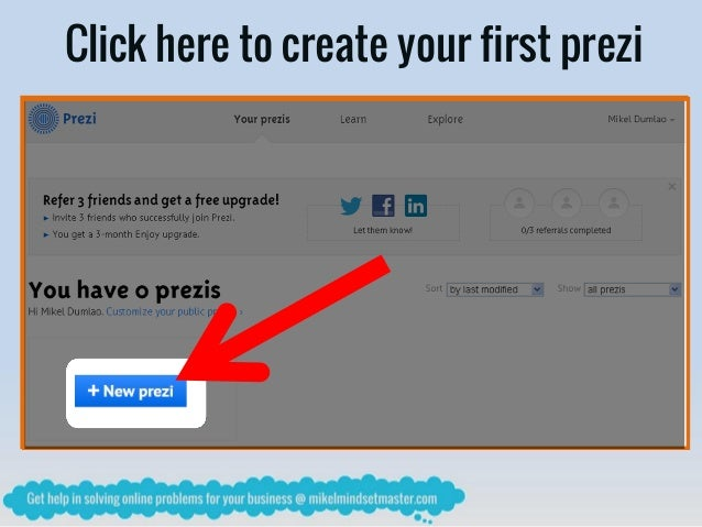 how to stop prezi from zooming