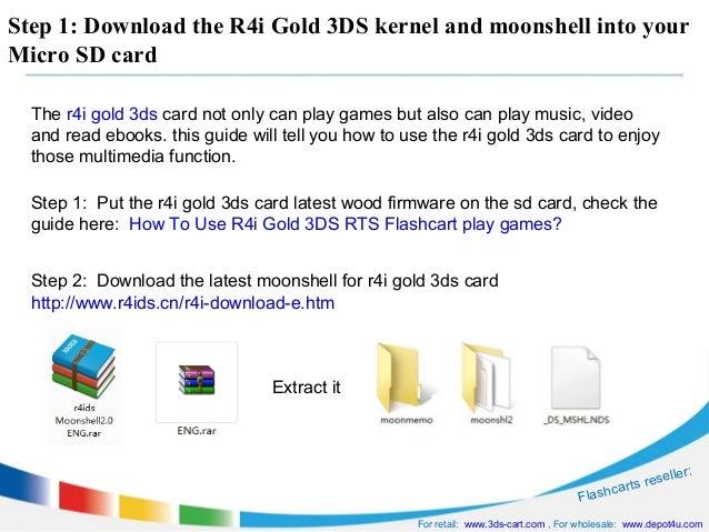 moonshell 2 pour r4i