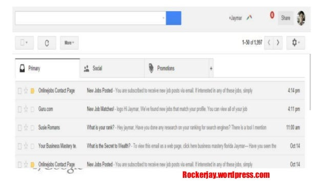 how to add rapportive to gmail