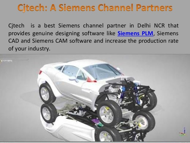 Cjtech is a best Siemens channel partner in Delhi NCR that provides genuine designing software like Siemens PLM, Siemens C...