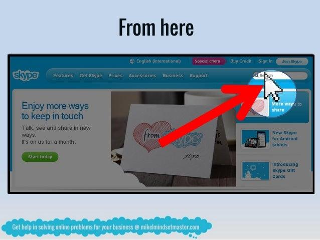 how to use skype video call
